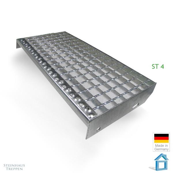 Stufenbelag ST4 Stahlgitter Masche mit Rutschhemmung
