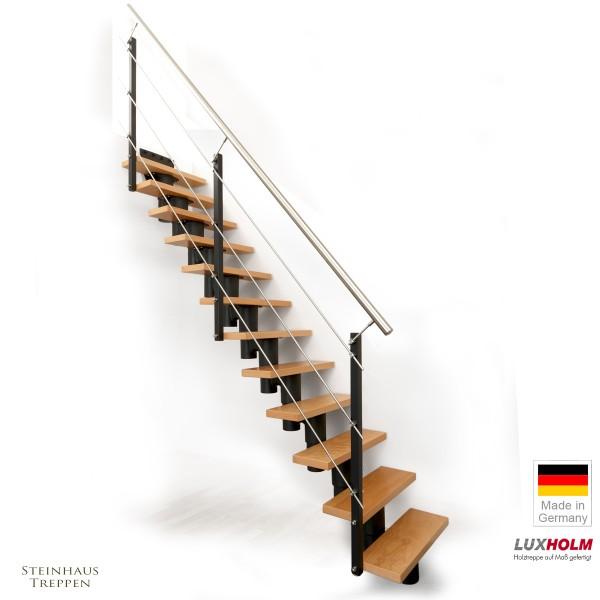 """Mittelholm Treppe """"Regulus"""" 65 bis 80 cm Stufenweite"""