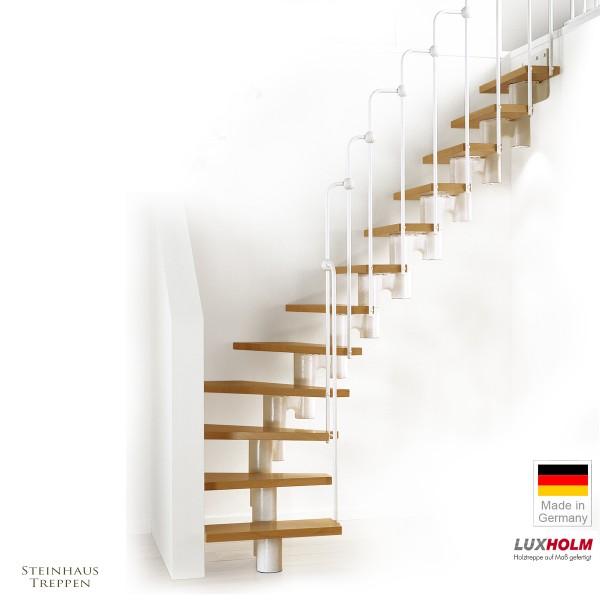 "Mittelholm 75 cm Treppe 1/4 gewendelt ""Arcus"""