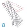 deckenloch gewendelte treppe messen
