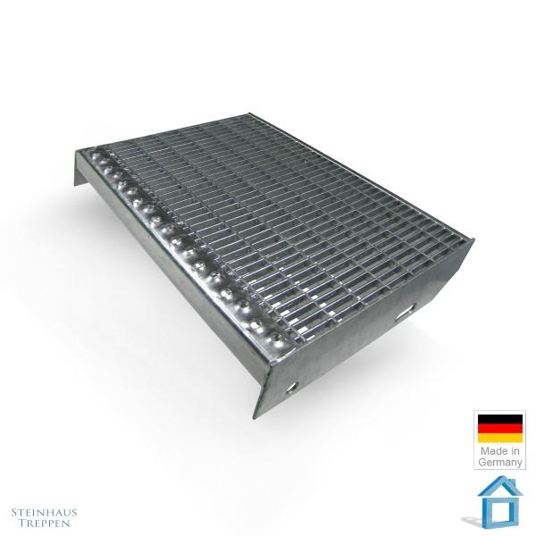 Gitterrost DIN Stahlstufe ST3 verzinkt Masche 31 x 9