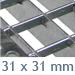 gitterweite 31 x 31 ST1