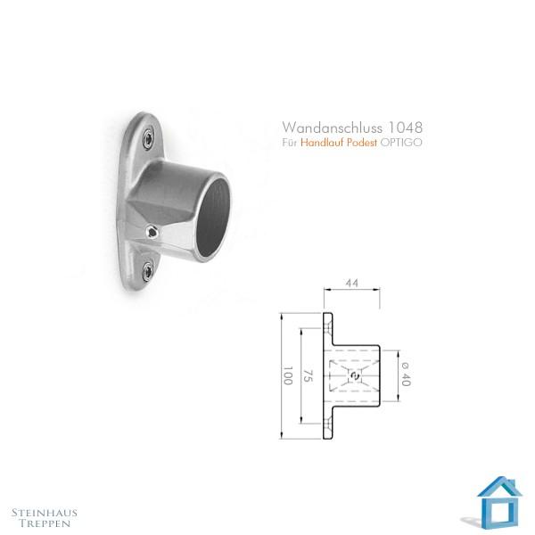 Handlaufhalter zum Treppengeländer 40mm