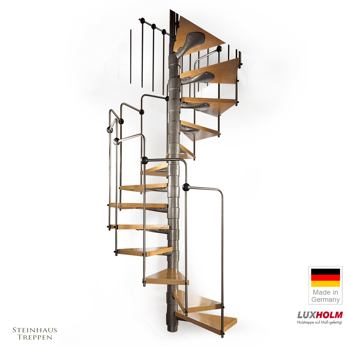 spindeltreppen sind g nstige wendeltreppen f r wohnraum. Black Bedroom Furniture Sets. Home Design Ideas
